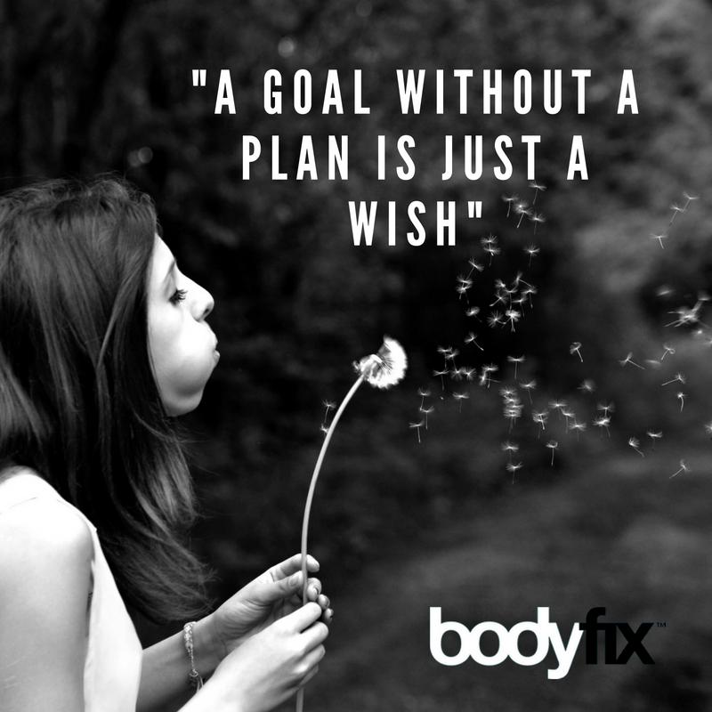 Set goals to make it easier